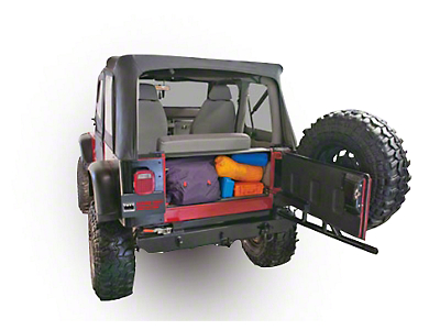 Tuffy Tailgate Security Enclosure (87-95 Jeep Wrangler YJ)