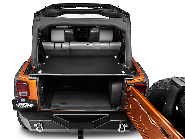 Tuffy Tailgate Security Enclosure (07-18 Jeep Wrangler JK)
