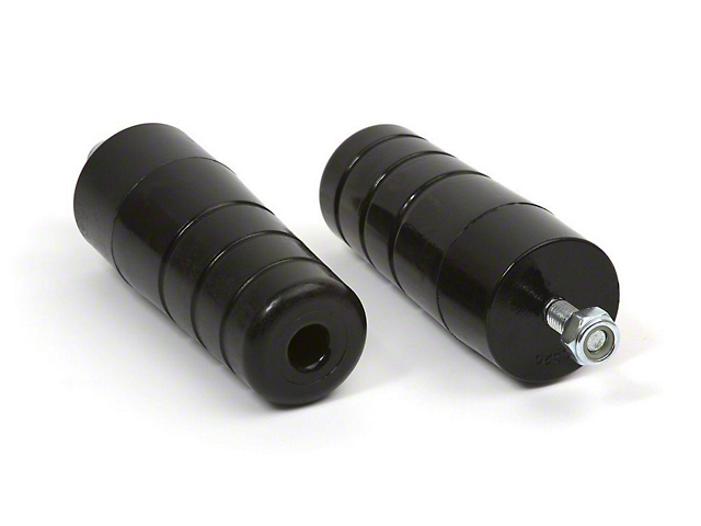 Daystar Bolt-In Extended Front or Rear Bump Stops (97-06 Jeep Wrangler TJ)