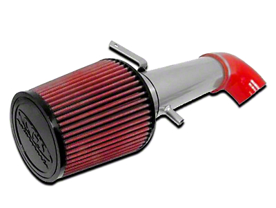 CGS Motorsports Cold Air Intake - Silver (91-95 2.5L Wrangler YJ)