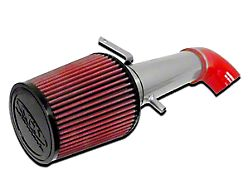 CGS Motorsports Cold Air Intake - Silver (91-95 2.5L Jeep Wrangler YJ)