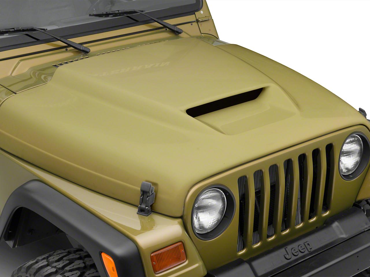 Cervini's Ram Air Hood - Unpainted (97-06 Wrangler TJ)