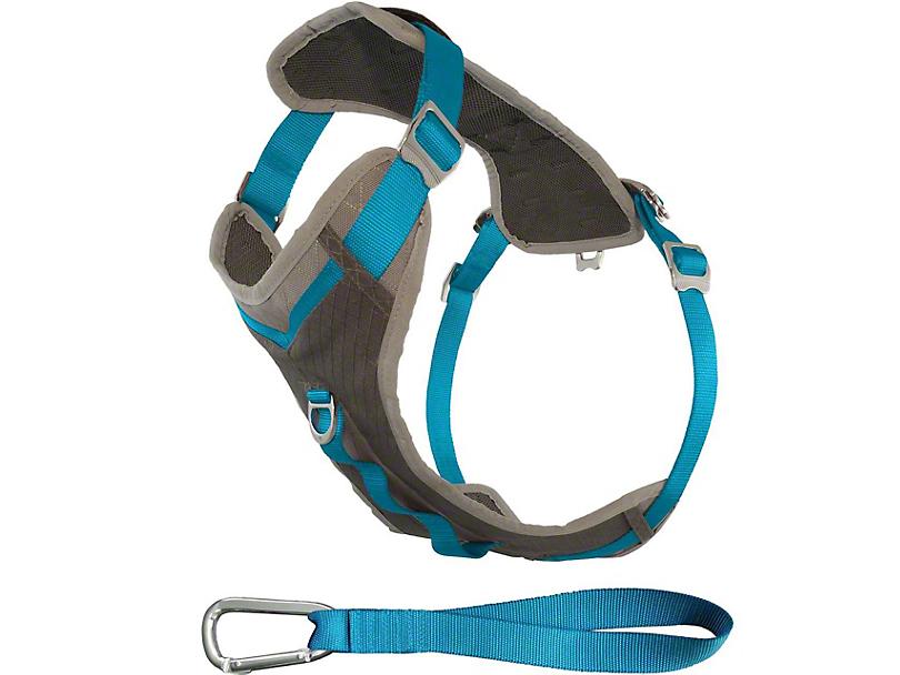 Kurgo Journey Dog Harness - Coastal Blue/Charcoal (87-18 Wrangler YJ, TJ & JK)