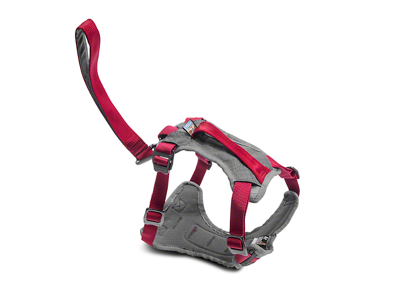 Kurgo Journey Dog Harness - Chili Red/Charcoal (87-18 Wrangler YJ, TJ, JK & JL)
