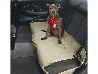 Kurgo Shorty Rear Bench Seat Cover - Hampton Sand (87-18 Wrangler YJ, TJ & JK)