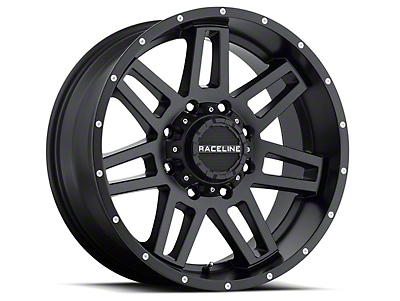 Raceline Injector Black Wheel - 18x9 (07-18 Wrangler JK)