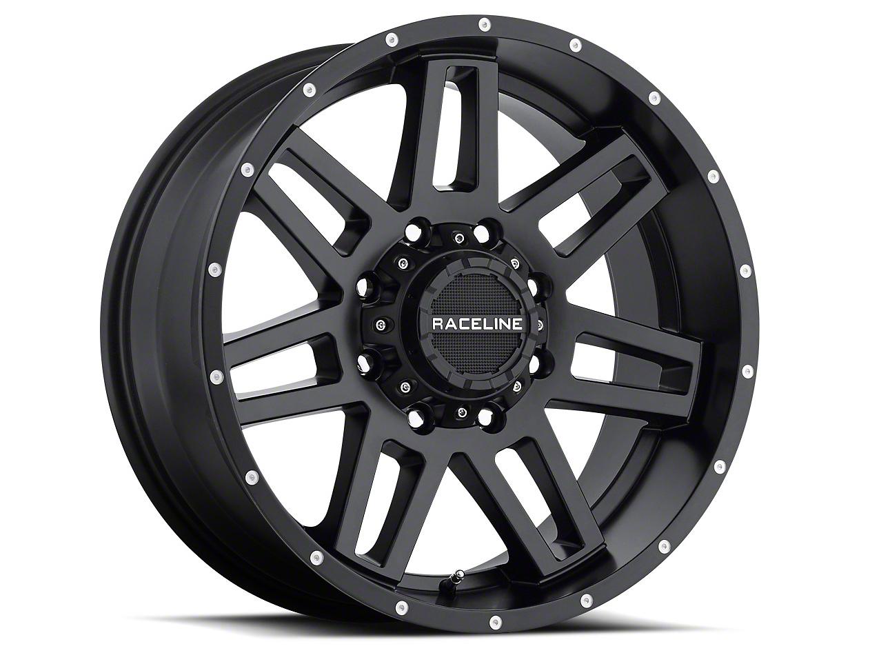 Raceline Injector Black Wheel - 18x9 (07-18 Wrangler JK)