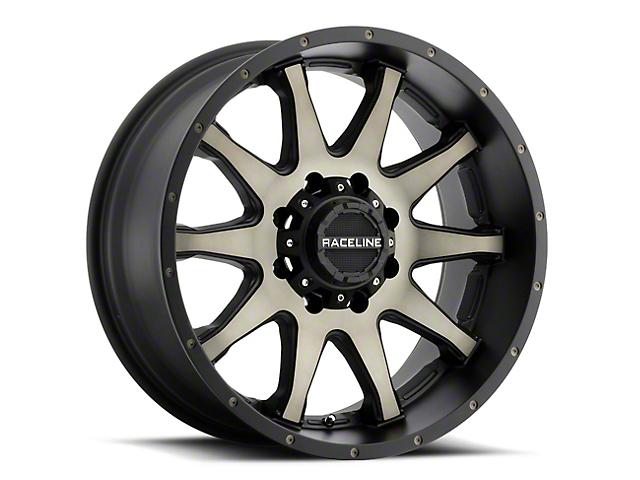 Raceline Shift Black Machined w/ Dark Tint Wheel - 20x9 (97-06 Jeep Wrangler TJ)