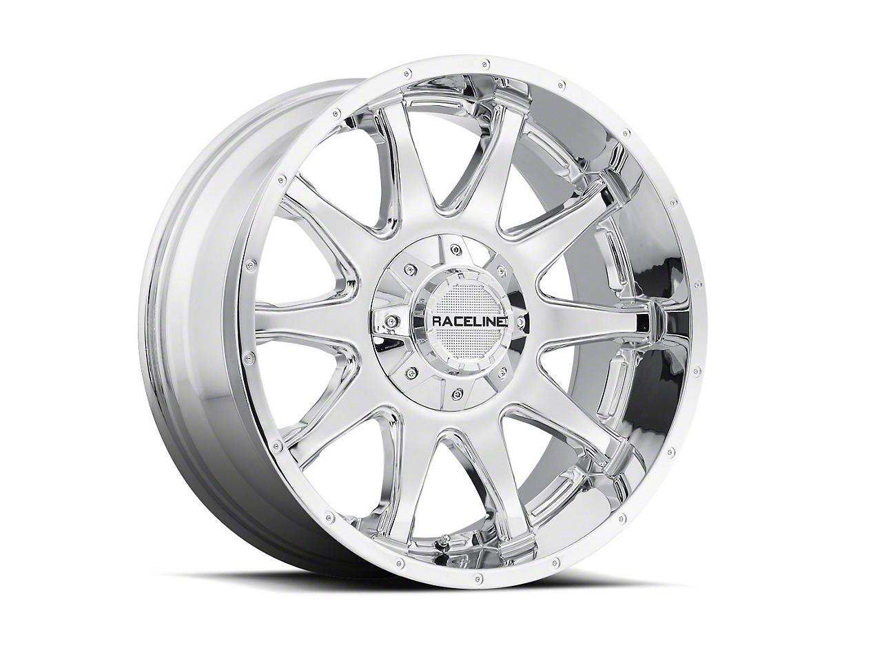 Raceline Shift Chrome Wheel - 20x9 (07-18 Wrangler JK)
