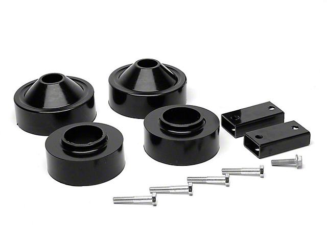 Daystar 1.75 in. Comfort Ride Coil Spacer Lift Kit (07-18 Jeep Wrangler JK)