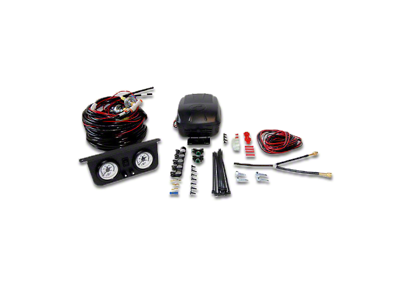 Air Lift Performance Load Controller II Dual Path Standard Duty On-Board Air System (87-18 Wrangler YJ, TJ and JK)