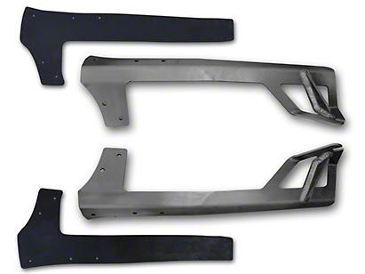 Poison Spyder 50 in. Rigid E or SR Series LED Light Bar Mount - Steel (07-18 Wrangler JK)