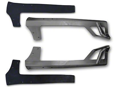 Poison Spyder 50 in. Rigid E or SR Series LED Light Bar Mount - Aluminum (07-18 Wrangler JK)