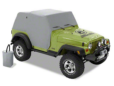 Bestop All-Weather Trail Cover - Charcoal (97-06 Wrangler TJ, Excluding Unlimited)