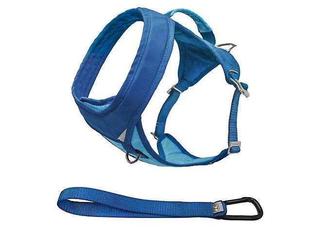 Kurgo Go-Tech Adventure Dog Harness - Coastal Blue