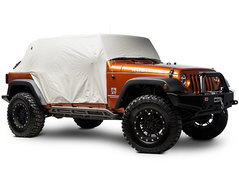 Bestop All-Weather Trail Cover - Gray (07-18 Jeep Wrangler JK 4 Door)