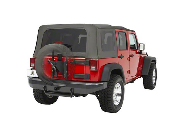 Bestop HigkRock 4x4 Oversize Tire Carrier (07-18 Jeep Wrangler JK)