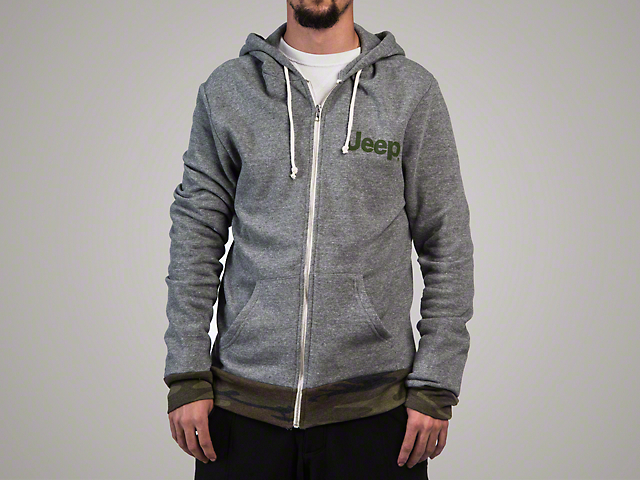Men's Fleece Zip Hoodie