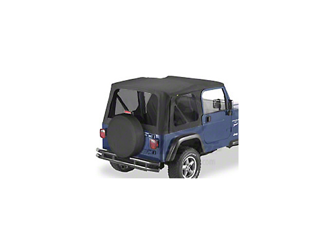 Bestop Replace-A-Top with Tinted Windows; Black Diamond (03-06 Jeep Wrangler TJ w/ Full Steel Doors)