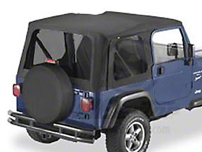 Bestop Replace-A-Top w/ Tinted Windows - Black Diamond (03-06 Wrangler TJ w/ Full Steel Doors)