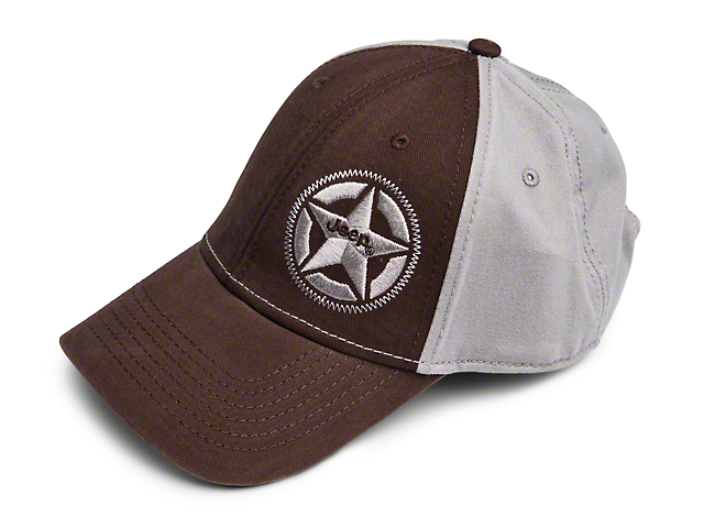 Silver Star Logo Cap
