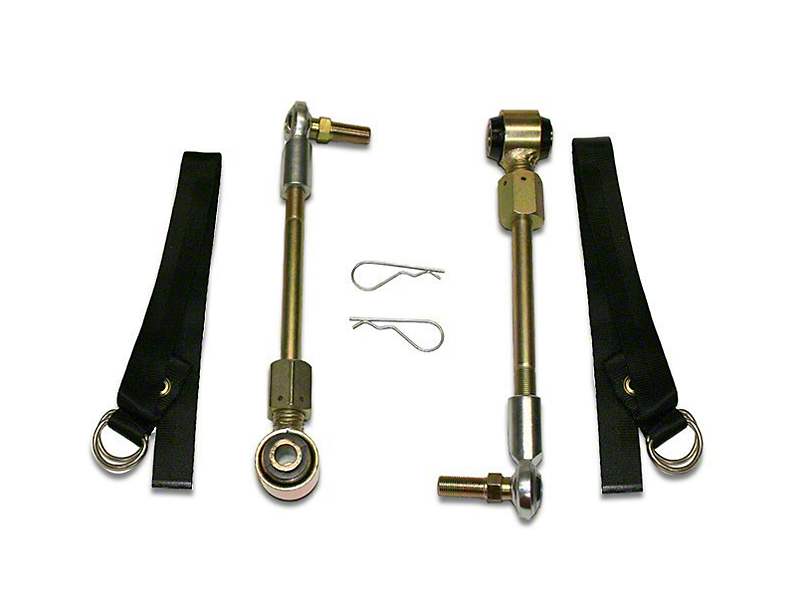 SuperLift Front Sway Bar Disconnects for 2-4 in. Lift (07-18 Jeep Wrangler JK)