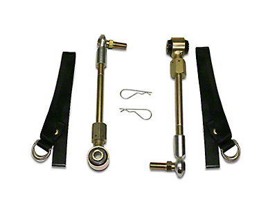 SuperLift Front Sway Bar Disconnects for 2-4 in. Lift (07-18 Wrangler JK)
