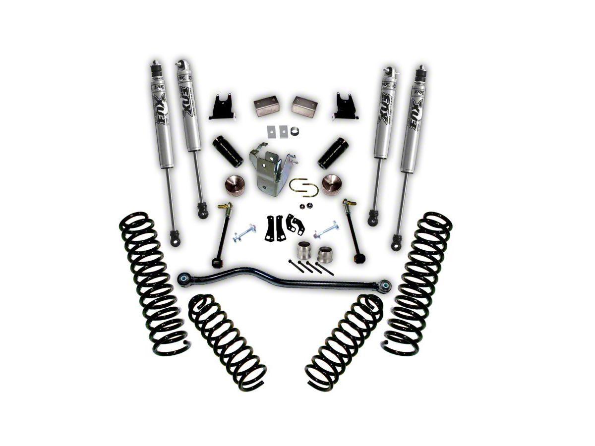 SuperLift 4 in  Suspension Lift Kit w/ Fox Shocks (07-18 Jeep Wrangler JK 4  Door)