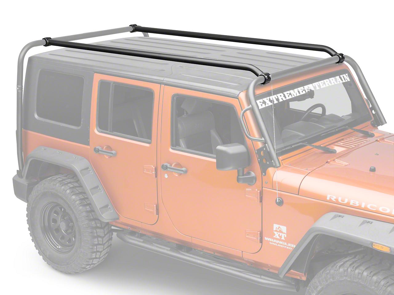 Kargo Master Congo Pro Roof Rails (07-18 Jeep Wrangler JK 4 Door)