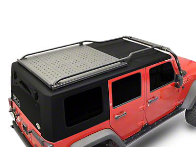 Kargo Master Lo-Pro Front to Back Rails (07-18 Wrangler JK 4 Door)