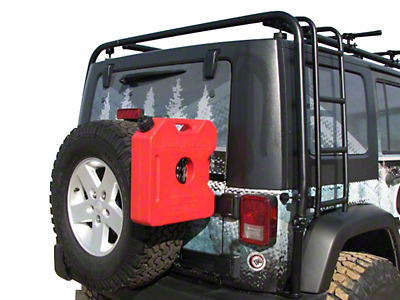 Garvin 2-3 Gallon Rotopax Can Mount (07-18 Jeep Wrangler JK)