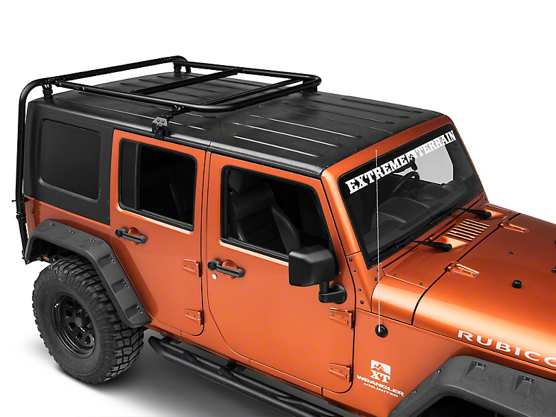Garvin Adventure Half-Rack for Hard-Tops (07-18 Jeep Wrangler JK 4 Door)