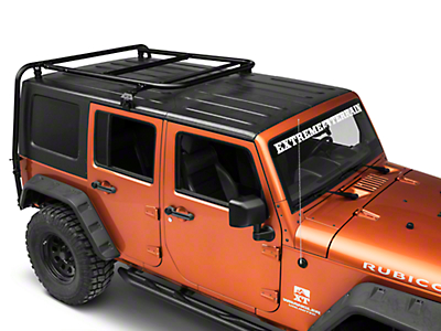 Garvin Adventure Half-Rack for Hard-Tops (07-18 Jeep Wrangler JK 4 Door)