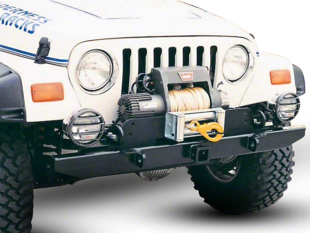 Garvin ATS Series 54 in. Front Bumper (87-95 Jeep Wrangler YJ)