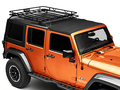 Garvin Expedition Half-Rack for Hard-Tops (07-18 Wrangler JK 4 Door)