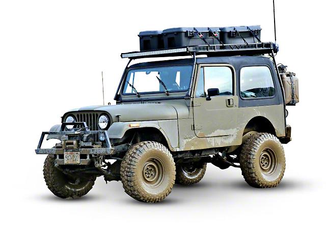Garvin Expedition Rack (87-95 Jeep Wrangler YJ)