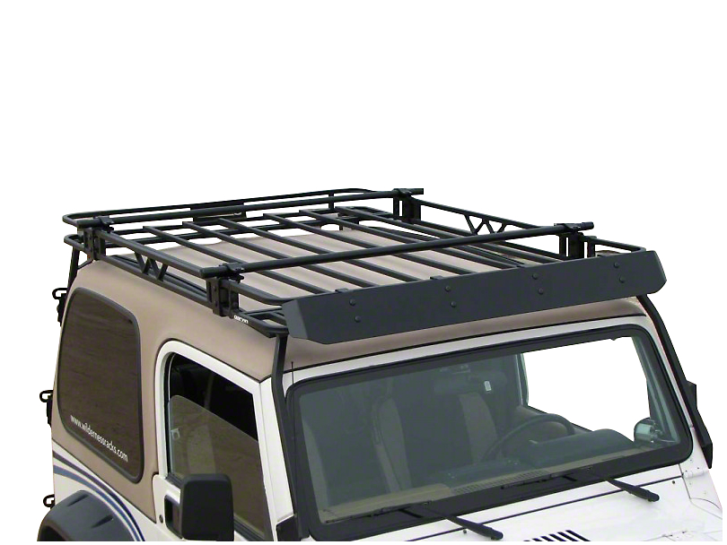 Garvin Expedition Rack Crossbar Kit for 4-Inch High Roof Rack (87-20 Jeep Wrangler YJ, TJ, JK & JL)