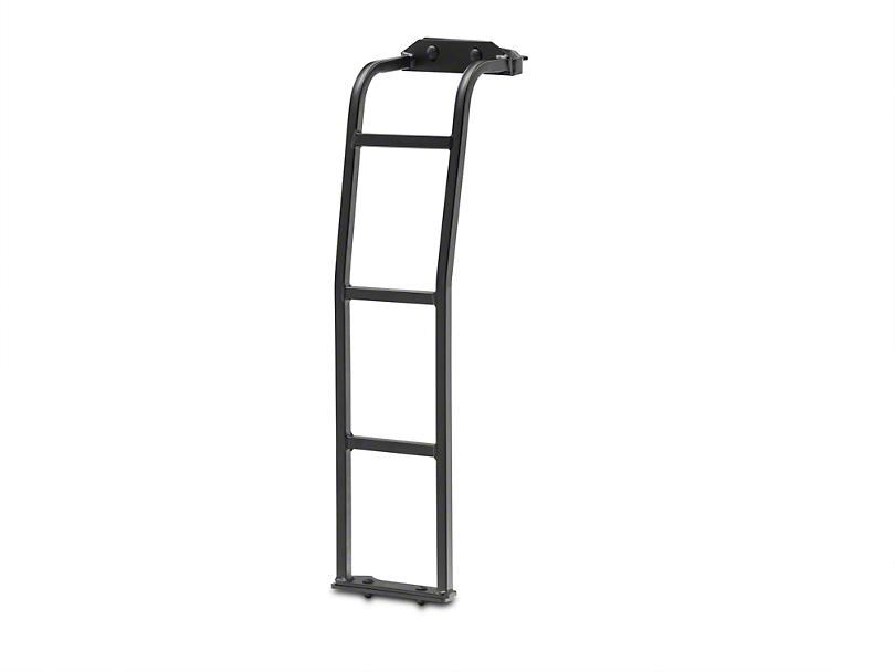 Garvin Expedition Roof Rack Ladder - Passenger Side (07-18 Jeep Wrangler JK)