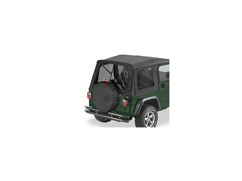Bestop Tinted Window Kit for Supertop - Black Diamond (97-06 Jeep Wrangler TJ)