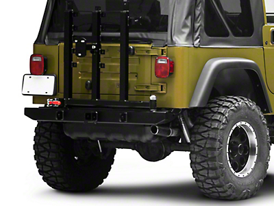 Garvin G2 Series Rear Bumper w/ Tire Carrier (97-06 Wrangler TJ)