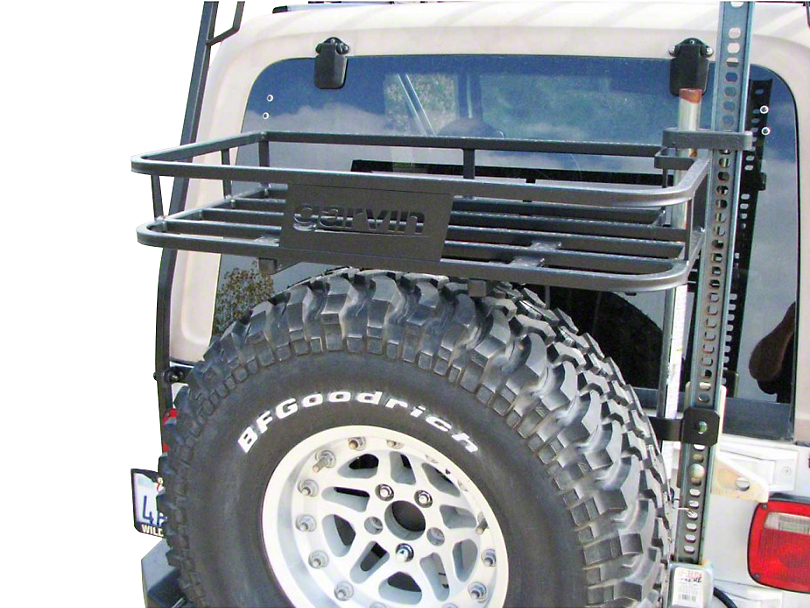 Garvin Jeep Wrangler G2 Series Trail Rack 77930 97 06 Jeep Wrangler Tj