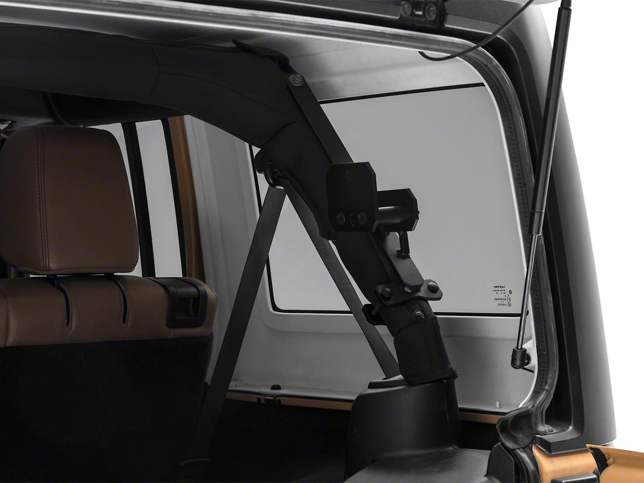 Garvin Interior Roll Bar Rotopox Can Mount for Hard Tops (07-18 Jeep Wrangler JK 4 Door)
