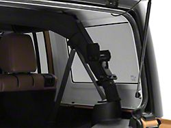Garvin Interior Roll Bar Rotopox Can Mount for Hard Tops (07-18 Jeep Wrangler JK 4 Door)