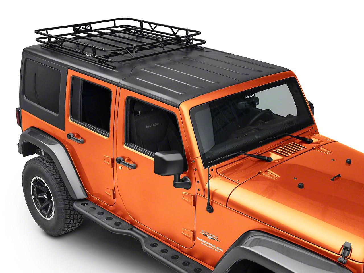 Garvin Sport Series Track Rack (07-18 Jeep Wrangler JK 4 Door)