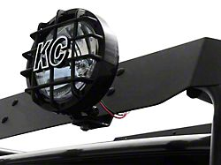 Garvin Wind Deflector Light Mount for Adventure or Expedition Roof Racks (Universal; Some Adaptation May Be Required)