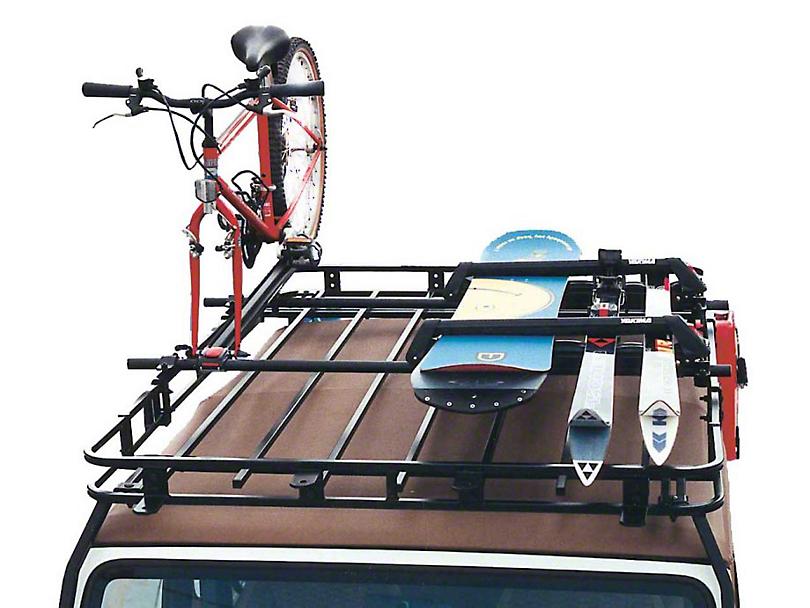 Garvin Yakima/Thule Crossbar Adapters for 6 in. High Roof Rack (87-20 Jeep Wrangler YJ, TJ, JK & JL)