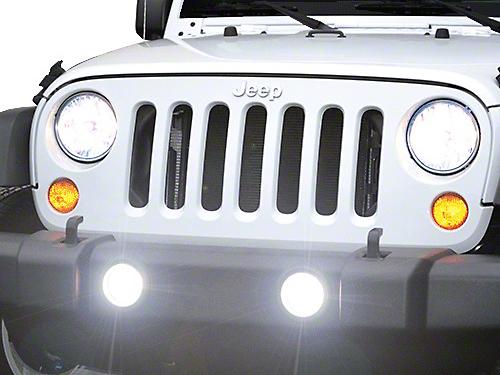PIAA LP530 3.5 in. LED Driving Lights (10-18 Wrangler JK)