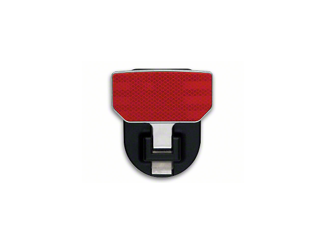 Carr HD Hitch Step - Red Reflector (Universal Fitment)