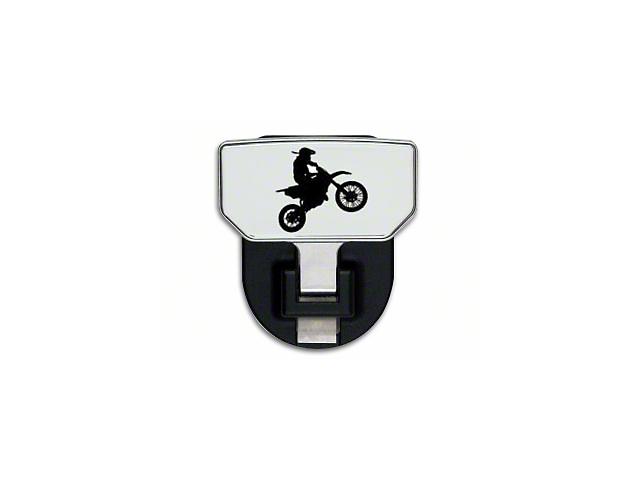 Carr HD Hitch Step w/ Dirt Bike Logo (Universal Fitment)