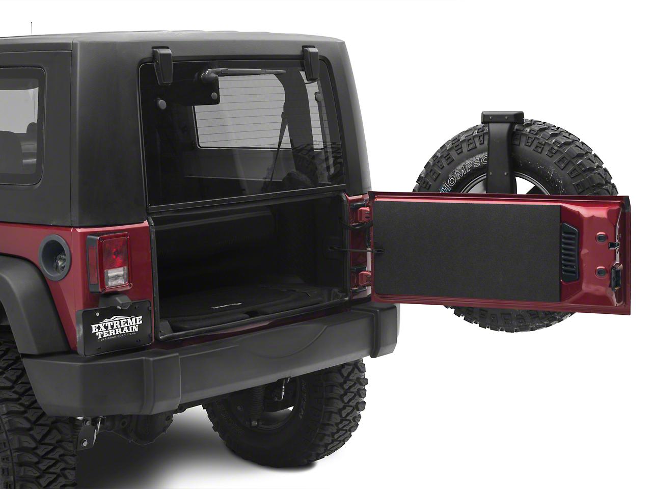 BedRug BedTred Tailgate Liner (07-18 Jeep Wrangler JK)